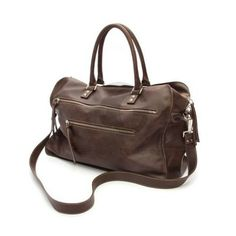 Leather weekend bag. downloadable version free