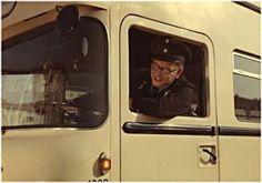 Berlin Busfahrer der BVG Berlin 1963