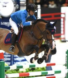 H&M Tornesch lost his right eye last year, but it hasn't slowed him down at all as he jumps in the Longines FEI World Cup Final with Malin Baryard-Johnsson. Photo by Kat Netzler | The Chronicle of the Horse