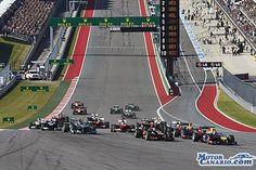 """Previa Gran Premio de Austin: El """"Mundial a tres"""" de Hamilton y Rosberg."""