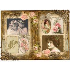 Album.... by elonda, via Polyvore