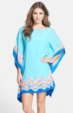 Lilly Pulitzer® 'Linda Marie' Silk Caftan available at #Nordstrom