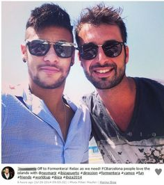 Aún correa, Neymar disfruta de vacaciones en Ibiza con Bruna Marquezine | globoesporte.com