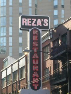 Reza's Restaurant in Chicago. I love their dill rice.