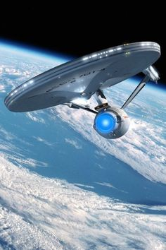 The Enterprise - Star Trek is such an awesome size it seems impossible to consider how you could begin to build this.