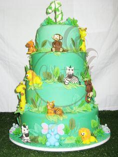 Animal cake - Caketutes Cake Designer