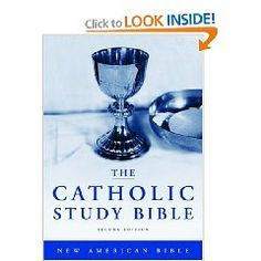 The Catholic Study Bible is a unique, self-contained study system that brings Catholics face-to-face with the Bible's force and beauty, while opening up its historical, literary and theological dimensions. Bible Concordance, Catholic School Girl, Catholic Bible, Roman Catholic, Bible Mapping, The Answer To Everything, Bible 2, World Religions, Study Materials