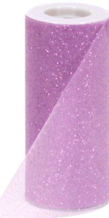 Berwick Offray Ivory Sparkle Tulle by The Bolt 25 Yards 6 W