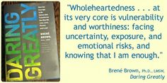 Daring Greatly Book Review #brenebrown #quotes #spon #BHBC