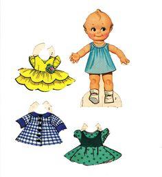 Sharon's Sunlit Memories: Kewpie Paper Dolls