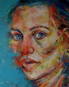 """Saatchi Art Artist Dejan Bozinovski; Painting, """"Portrait 2"""" #art"""