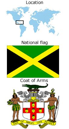 Flag of jamaica is another flag powerpoint template that you can maps of jamaica map of jamaica jamaica maps online toneelgroepblik Gallery