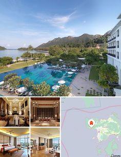 Este hotel localiza-se na costa ocidental da ilha lendária de Langkawi, rodeado por 1 hectare de áreas verdes. Goza de uma vista deslumbrante sobre as montanhas e a marina e fica a alguns minutos do teleférico. As atracções das imediações incluem o Underwater World Langkawi (a 25 minutos de viagem) e a localidade de Kuah (a 35 minutos). O aeroporto de Langkawi fica a 10 km.