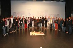Participants in the 2012 Pilot Intensive (photo by Luminous Concepts, at Intermedia Arts, 2012).