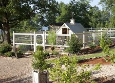 Chicken coop idea ~ Made in heaven: Summer at the country cottage | homemadeinheaven.blogspot.com