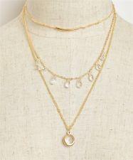Unique Jewelry - Charm Fashion Jewelry Pendant Chain Crystal Choker Chunky Statement Bib Necklace