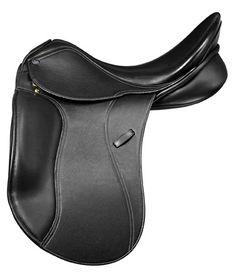 Pessoa Euro Double Leather  Dressage Saddle