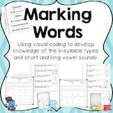 Six Syllable Types Marking - Orton Gillingham Instruction