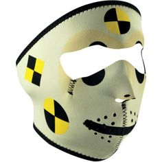 Face mask Crash test dummy Zan Headgear