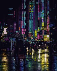Tokyo Nights: A Different World | Abduzeedo Design Inspiration
