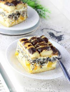 Ciasto kokos w czekoladzie - I Love Bake Baking Recipes, Cake Recipes, Dessert Recipes, Polish Recipes, Polish Food, Sweets Cake, Food Cakes, Yummy Cakes, Delish
