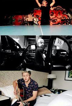 Niall in the Honda Civic Tour diary