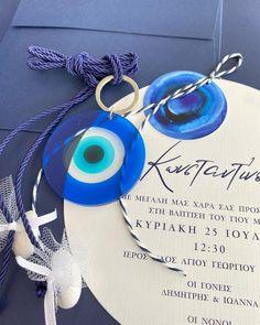 """𝗕𝗟𝗘𝗦𝗦 on Instagram: """"Προσκλητήριο βάπτισης και μπομπονιέρα βάπτισης κρεμαστή plexiglas μάτι 🧿 #bless #favors #stationary #invitation #prosklitiria #mpomponieres…"""" Jewelry, Instagram, Jewlery, Jewerly, Schmuck, Jewels, Jewelery, Fine Jewelry, Jewel"""