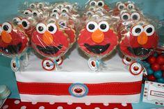 #elmo birthday party theme cookies