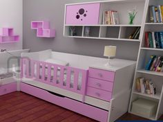 Imagen Baby Room, Toddler Bed, Nursery, Babies Rooms, Table, Cl, Furniture, Design, Home Decor