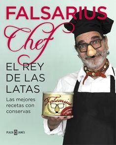 El Rey de las Latas de Falsarius Chef. Aquí os dejo el #libro de la semana!!!