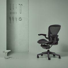 Refurbished Herman Miller Aeron Graphite Bürostühle/Chefsessel   in Büro & Schreibwaren, Büromöbel, Sitzmöbel | eBay!