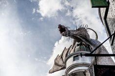Universal Studios, FL: Diagon Alley, Gringott's Bank | You Got Lucky Photography | Travel Photography
