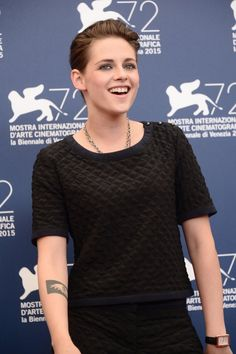 """Kristen Attends The """"Equals"""" Photocall & Press Conference During The Venice Film Festival 