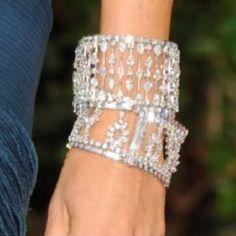 Harry Winston... when one diamond bracelet is just not enough....