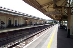 Train Station at Chippenham, England.