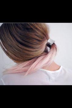 pink pastel balayage - Google Search