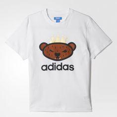 Camiseta Bear Logo - Blanco adidas | adidas España