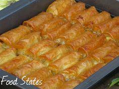 Γαλακτομπουρεκο (σε ρολακια) - Food States Hot Dog Buns, Recipies, Bread, Desserts, Blog, Pebble Art, Recipes, Tailgate Desserts, Deserts