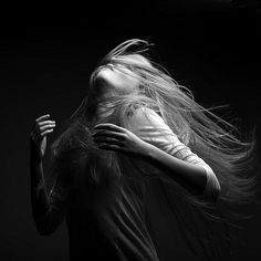 Photographer Marc Laroche uses the flow of Hair to convey a deep sense of emotion. Shot against a dark background, beautiful, young women flip, toss, and t Hair Photography, Photography Series, Photography Women, Portrait Photography, Rumi Quotes, Fine Quotes, Qoutes, Beautiful Models, Beautiful Series