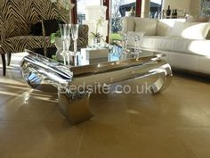 The Terano coffee table is the pinnacle of non-child friendly, contemporary, exclusive furniture. £1320.50