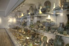 There are over 1000 ceramics on display in The Wall of Pots at the Centre of Ceramic Art (CoCA) located in York Art Gallery. York Art Gallery, Ceramic Art, Centre, Pots, Display, Ceramics, Wall, Floor Space, Ceramica