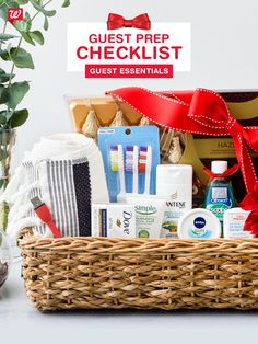 Be prepared for every last-minute visitor with essentials that will make them feel right at home.