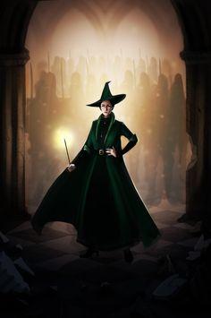Professor McGonagall by kit466.deviantart.com