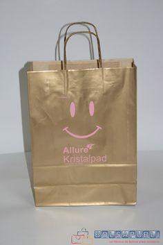 Bolsas de papel personalizadas.