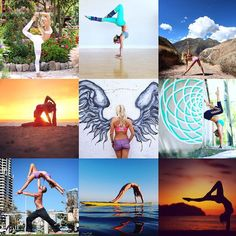 janalyn.rose : Looking back one last time.  2015 cannot be summed up in the #2015bestnineinstagram  But even if we only look forward now I'm grateful to everyone who supported me on that adventure.  Welcome 2016.  #2015 #2016LOVE #collage #yoga #yogagirl #HANDSTAND365_2016 #handstands #handstand #glide #wishyouwerehere #bodyglovegirl #sponsors #retreats #sup #standuppaddle #standuppaddleyoga #yogaphotography #yogaphotographer