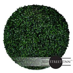 Boxwood Topiary Ball  19 Artificial Topiary Plant  Wedding Decor  IndoorOutdoor Artificial Plant Ball  Topiary Tree Substitute 1 Boxwood >>> Click image to review more details. (This is an affiliate link and I receive a commission for the sales) #DecorativeAccessories