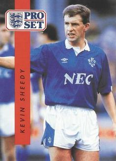 1990-91 Pro Set English League #85 Kevin Sheedy Front
