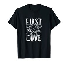 Skateboarding Tees: Skateboard was my First Love T shirt Love T Shirt, No One Loves Me, Branded T Shirts, Cool T Shirts, Fashion Brands, First Love, Tees, Revolvers, Mens Tops
