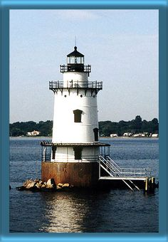 Conimicut Point Lighthouse, RI #SoRI, #SoNElighthouse