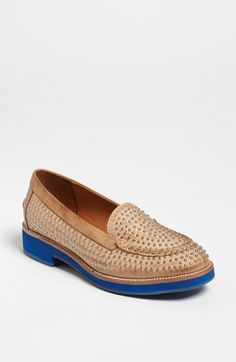 Jeffrey Campbell 'Dorm Stud' Loafer available at #Nordstrom  Lisa Beaudin, my sister in law bought this shoe.